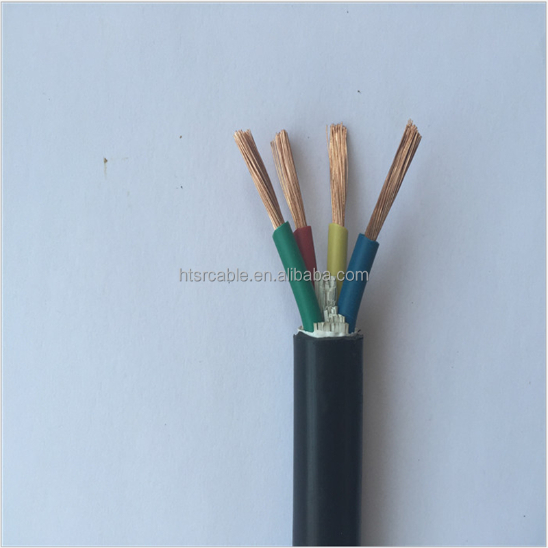 wholesale Copper 4 core dc power cable 16mm electric cable