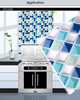 New design peel and stick wall tile removable vinyl mosaic tile for kitchen backsplash
