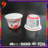 Food Packaging Hot Selling PP Disposable Plastic 6oz Takeaway Yogurt Cup