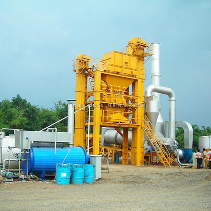 New 80t/h batch mix asphalt plant equipment for sale