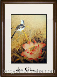 classical flower and bird painting room decoration