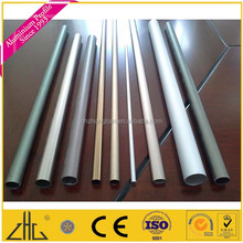 Wow!!Aluminium tube price size/ powder coated 10mm, 9mm, 7.9mm dia aluminium pipe 0.8 thick- walled aluminium tube for camp beds
