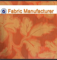 yarn dyed cotton/poly blend fabric,Floral jacquard fabric, woven jacquard upholstery fabric