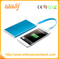 2017 Popular products of ulter-thin mobile powerbank/power bank 5000mah for moible phone