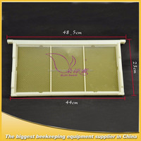 reusable plastic bee frame/plastic beehive frame for beekeeping /bee hive accessories