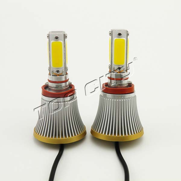 good quality high power cob led spot 2400LM 24W fog light yellow color