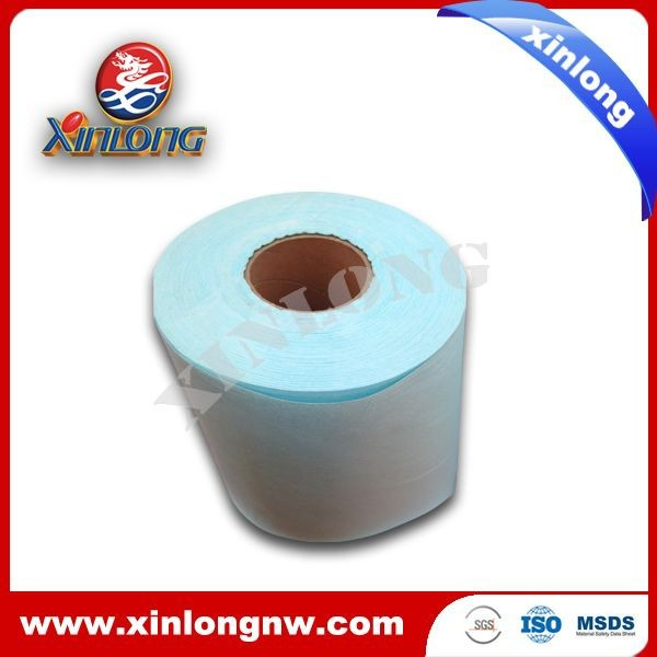Lint free Wipes Made of Woodpulp / Pet Nonwoven Fabric for Cleaning Use