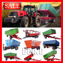 Supply All kinds China Agricultural Tractor Hydraulic Tipping Trailer with Reasonable Price