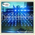 twinkle crystal night decorative 3D mirror fiber optic lighting