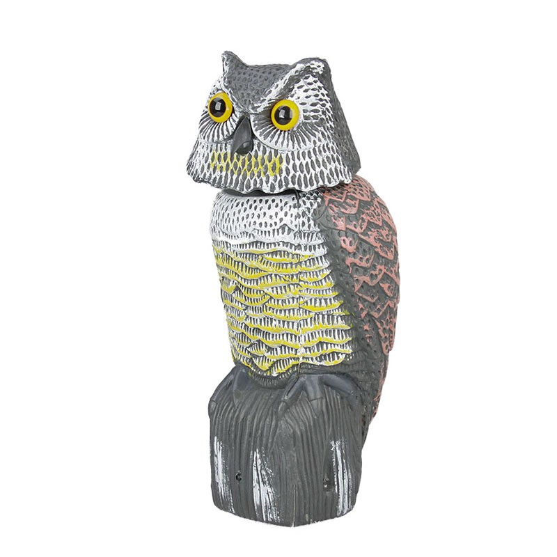 Outdoor hunting decoy plastic shaking bait owl Mp3 bird caller