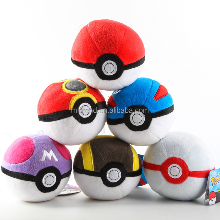 2016 New Design Pokemon Go Ball Toys Pokemon Go Plush Ball
