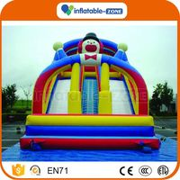 Top grade inflatable water slide with a pool kids snow slide skiing man inflatable snow slideinflatable slide price