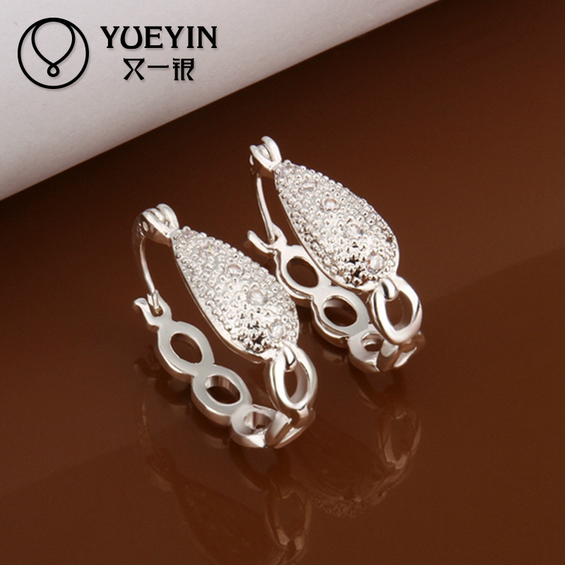 Silver plated Indian wholesale clip on earrings for girls