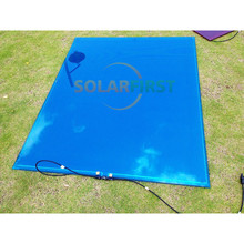 72 watt marine use A-si thin film flexible solar panel
