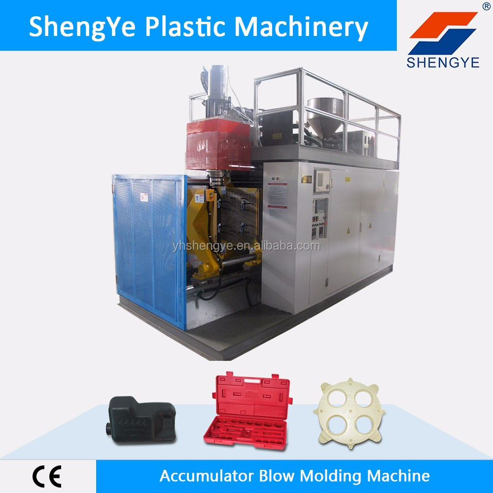 ShengYe SY-S-120 full automatic accumulator blow moulding machine water tank blow moulding machine with water tank