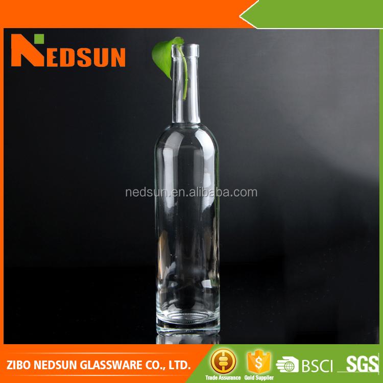 Hot sell Fashion glass chinese liquor bottles best selling products in america