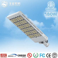 5years warranty meanwell driver 200w led street light