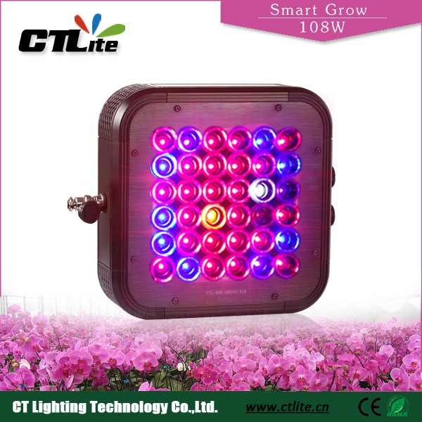 new product 2016 ctlite led grow light 108-648 watt led lights led grower for agriculture project