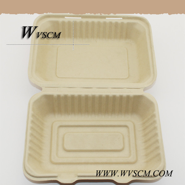 plant fiber based compostable disposable food containers