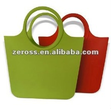 Retro and Elegant Silicone Handbag and Shopping Bag