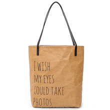 factory price kraft paper bag for shopping