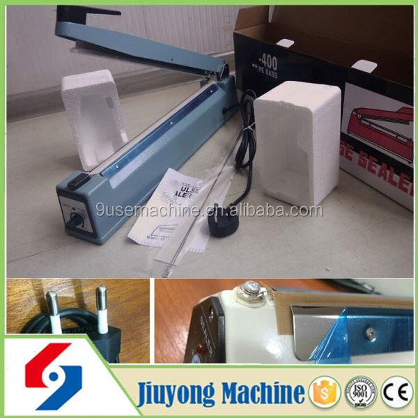 2015 commercial portable high efficiency nylon sealing and cutting machine