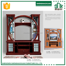 Chinese style simple luxry High Quality Wall Units Designs In Living Room