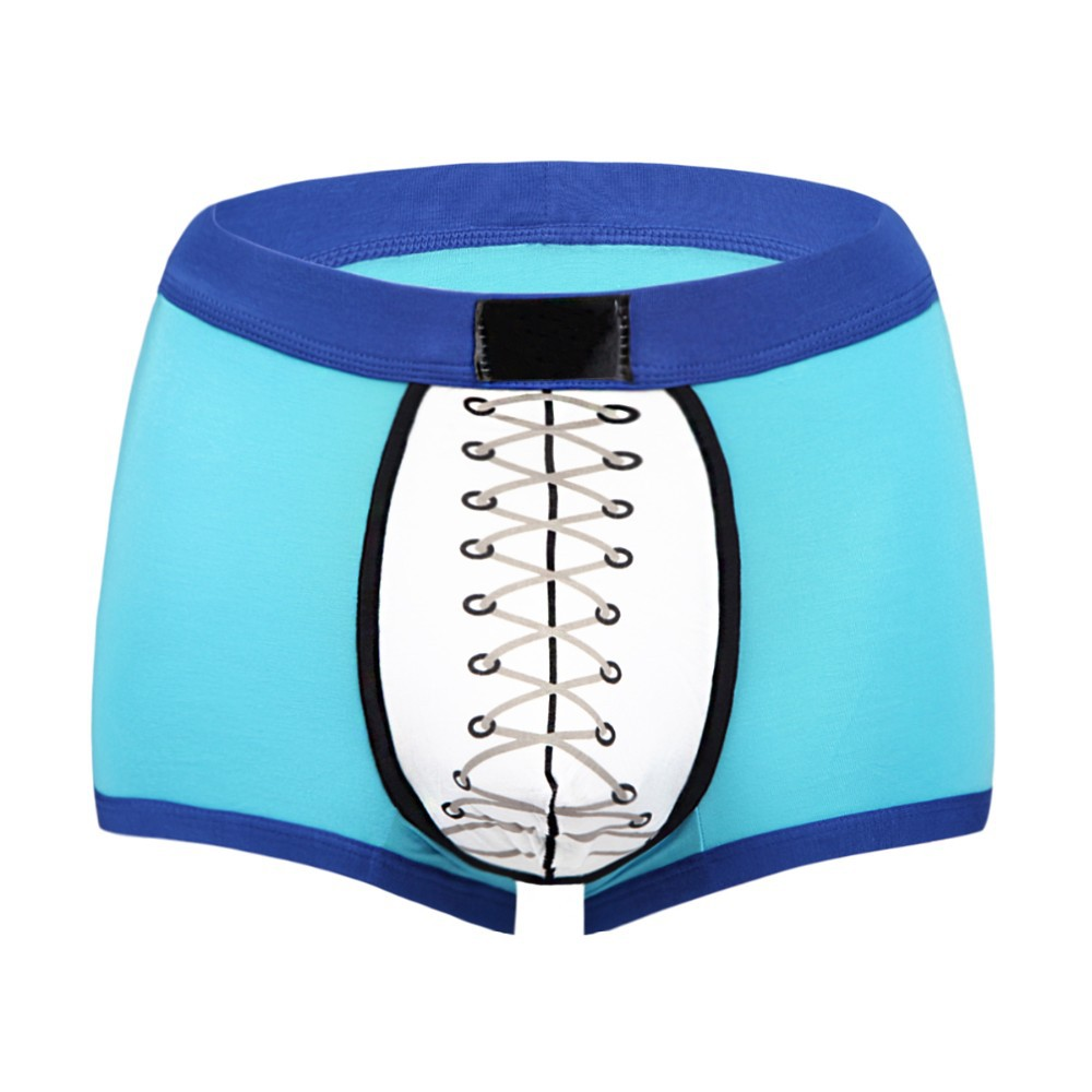 Plus size breathable sports style polyester underwear