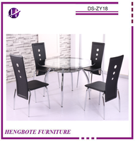 Chinese Wholesale Dining Room Set Metal Dining Table and Chair