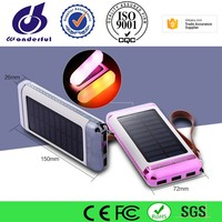 Solar Charger Portable Mobile Power Bank