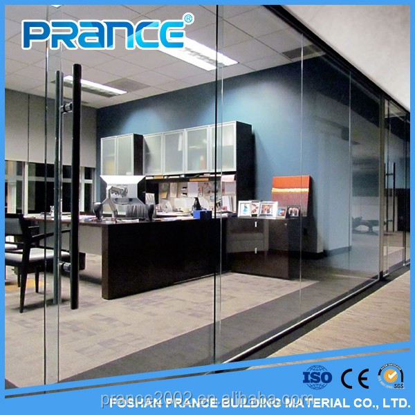 Frosted glass tempered glass partition wall of you office