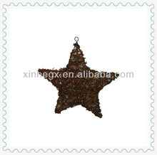 elegant handmade weaving star decoration for home decoration