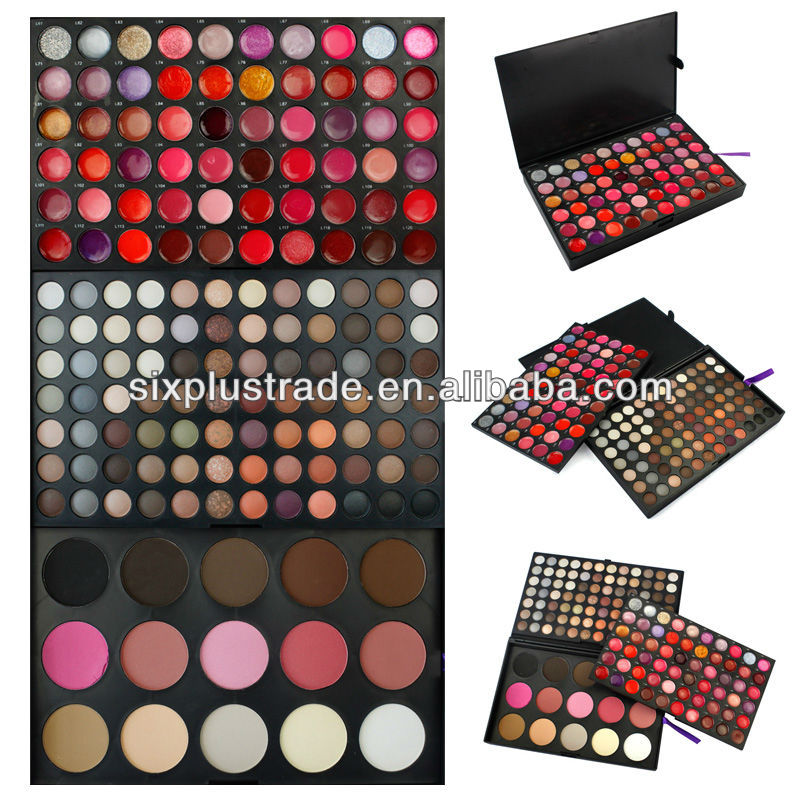 159 color no brand wholesale factory makeup/closeouts cosmetics palette