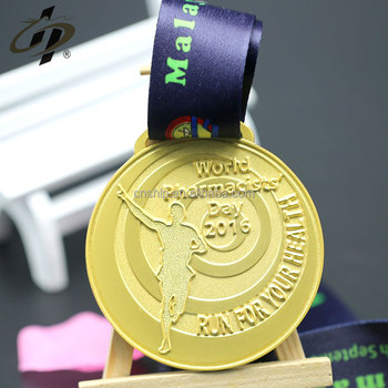 Hot selling souvenir custom running sports metal medals