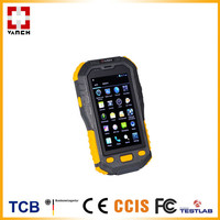 Dual core read wristband tag 1D 2D barcode scanner with display handheld rfid reader