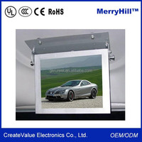 24V 3G WIFI Advertising Screen 15 Inch 17 Inch 19 Inch 22 Inch Bus Roof Mounted LCD/ LED Monitor