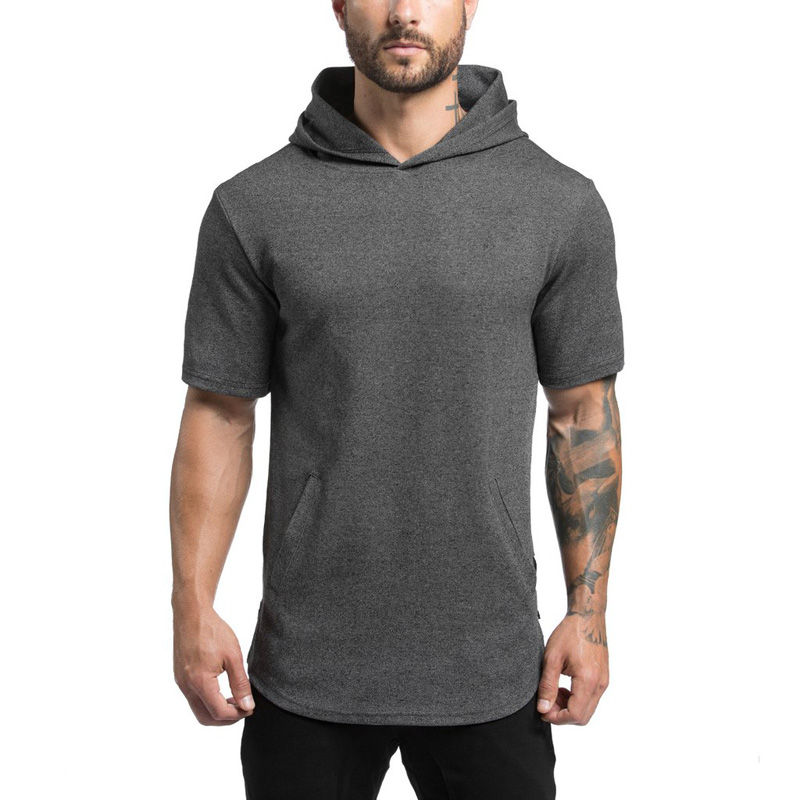 List Manufacturers of Mens Short Sleeve Hoodie, Buy Mens Short ...