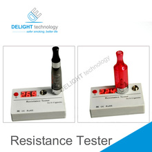 Resistance Tester 510/ego Cartomizer and Atomizer Ohm Meter