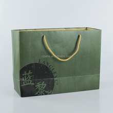 cheapest custom printed shopping kraft brown paper bag with handle
