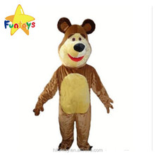 Funtoys CE Plush Brown Masha Bear Mascot Costume