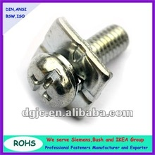 socket head cap screw with washer