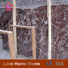 China Factory Direct Sales Purple Red Marble,Cut To Size Marble Tile
