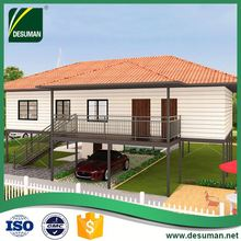 DESUMAN chinese supplier ISO wind and earthquake resistance sandwich precast concrete panel partition panel prefab villas