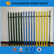 Powder Coating Security Cold Rolled Palisade Fence