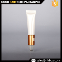 vibrating massage 20ml plastic cosmetic packaging tube with roller ball