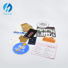 Directly Factory Plastic Price Hang Tags Customized China