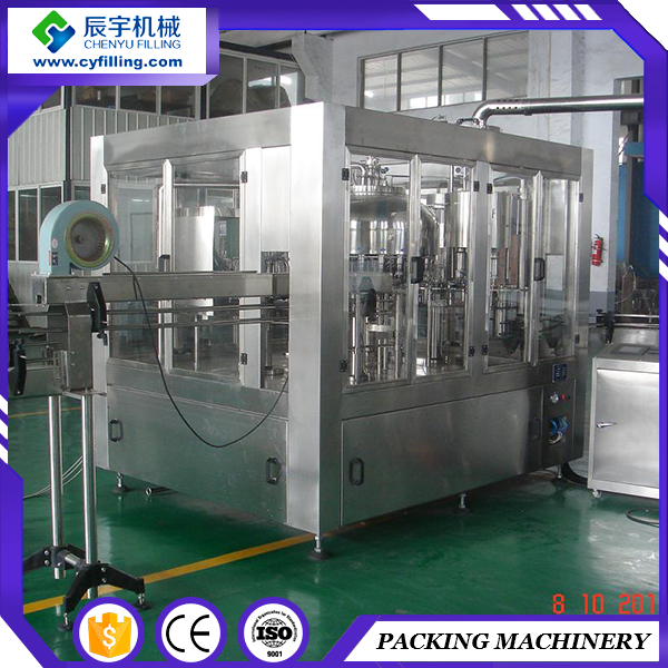 For sale CE ISO 3.1-9kw bottle filler juice Drink filling machine Production Line prices