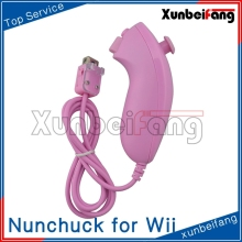 for wii nunchuck/nunchuk without logo(Pink)