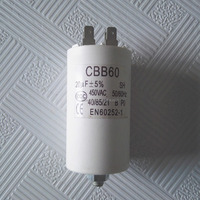 Factory price list of air conditioner capacitor 20uf