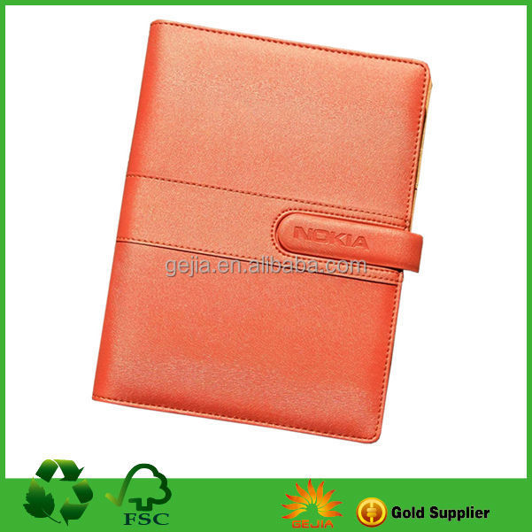 leather cover pu notebook
